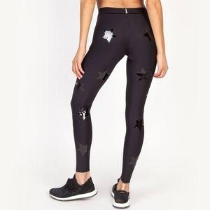 Ultracor Black Lux Knockout legging star print  XS